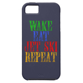 WAKE EAT JET SKI REPEAT iPhone 5 CASE