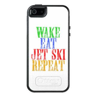 WAKE EAT JET SKI REPEAT OtterBox iPhone 5/5s/SE CASE