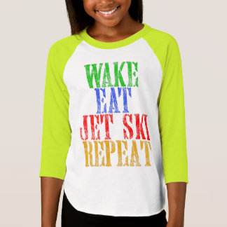 WAKE EAT JET SKI REPEAT T-Shirt