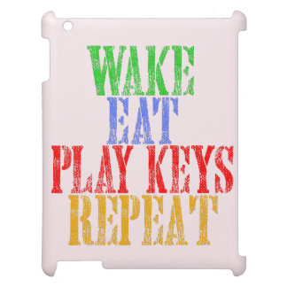 Wake Eat PLAY KEYS Repeat Cover For The iPad