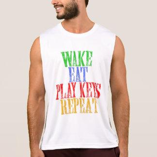 Wake Eat PLAY KEYS Repeat Tank Top