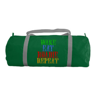 Wake Eat ROADIE Repeat Gym Bag