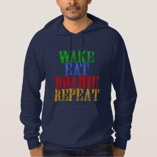 Wake Eat ROADIE Repeat Hoodie