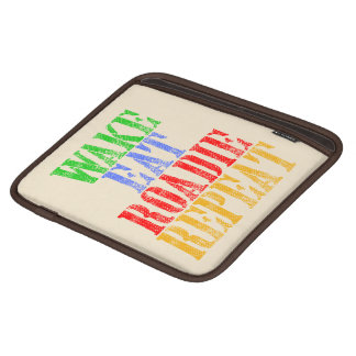 Wake Eat ROADIE Repeat iPad Sleeve