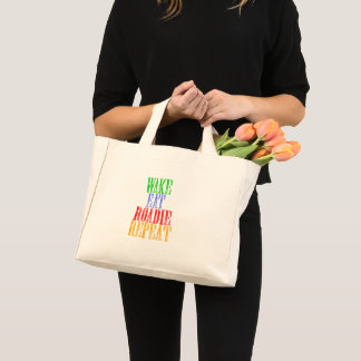 Wake Eat ROADIE Repeat Mini Tote Bag