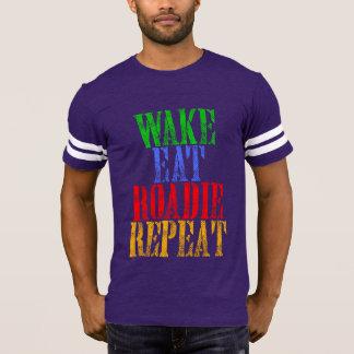 Wake Eat ROADIE Repeat T-Shirt