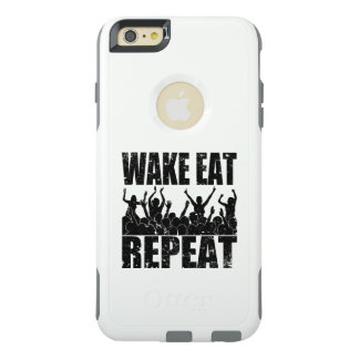 WAKE EAT ROCK REPEAT #2 (blk) OtterBox iPhone 6/6s Plus Case