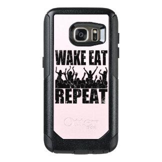 WAKE EAT ROCK REPEAT #2 (blk) OtterBox Samsung Galaxy S7 Case