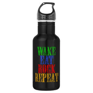 WAKE EAT ROCK REPEAT #3 532 ML WATER BOTTLE