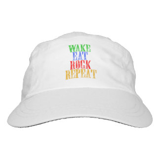 WAKE EAT ROCK REPEAT #3 HAT