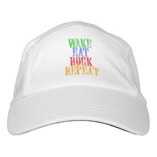 WAKE EAT ROCK REPEAT #3 HAT