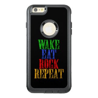 WAKE EAT ROCK REPEAT #3 OtterBox iPhone 6/6S PLUS CASE