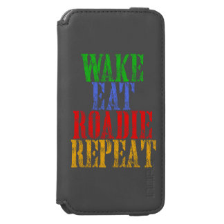 Wake Eat Sing Repeat Incipio Watson™ iPhone 6 Wallet Case