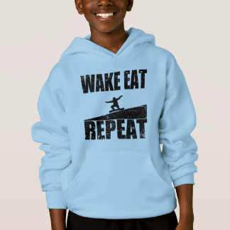 Wake Eat Snowboard Repeat #2 (blk)