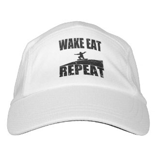 Wake Eat Snowboard Repeat #2 (blk) Hat