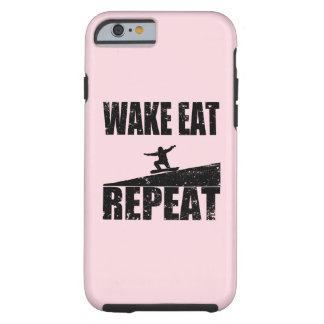 Wake Eat Snowboard Repeat #2 (blk) Tough iPhone 6 Case