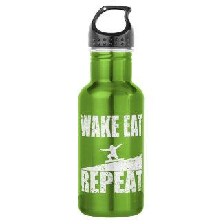 Wake Eat Snowboard Repeat #2 (wht)