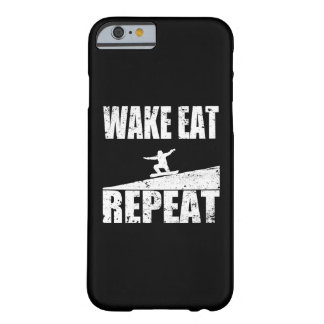 Wake Eat Snowboard Repeat #2 (wht) Barely There iPhone 6 Case