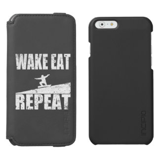 Wake Eat Snowboard Repeat #2 (wht) Incipio Watson™ iPhone 6 Wallet Case