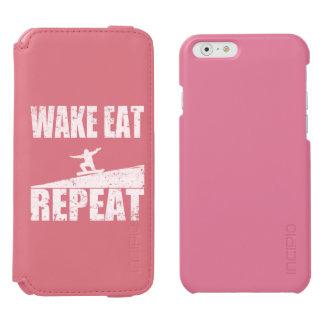 Wake Eat Snowboard Repeat #2 (wht) Incipio Watson™ iPhone 6 Wallet Case