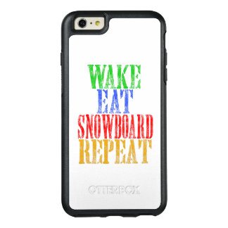 WAKE EAT SNOWBOARD REPEAT OtterBox iPhone 6/6S PLUS CASE