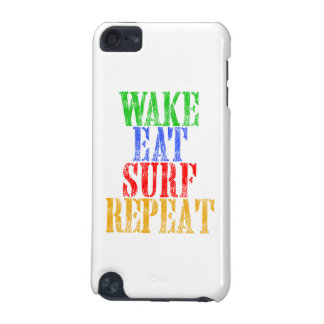 WAKE EAT SURF REPEAT iPod TOUCH 5G COVERS
