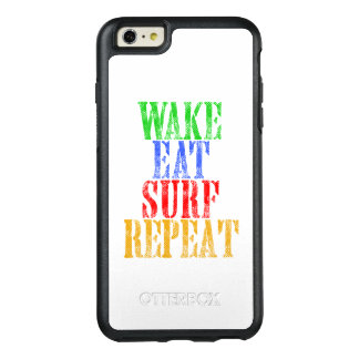 WAKE EAT SURF REPEAT OtterBox iPhone 6/6S PLUS CASE