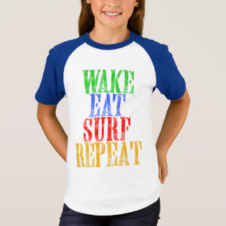 WAKE EAT SURF REPEAT T-Shirt