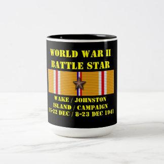 Wake / Johnston Island Campaign Two-Tone Coffee Mug