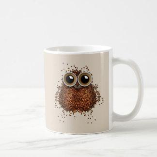 Wake Me Up, Wise Owl Coffee Mug