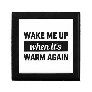 Wake Me When It's Warm Gift Box