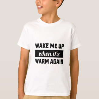 Wake Me When It's Warm T-Shirt