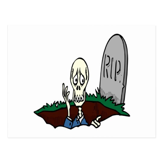 Wake The Dead Postcard