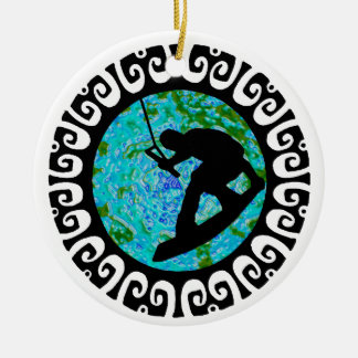 WAKE THE PLANET CERAMIC ORNAMENT