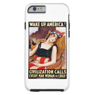 Wake Up America Tough iPhone 6 Case
