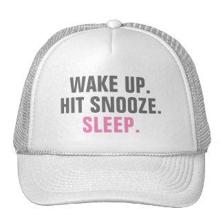 Wake Up and Sleep Trucker Hat