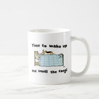 Wake Up and Smell the Corgi Coffee Mug