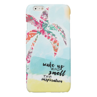 wake up and smell the inspiration, beach and palm