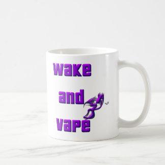 wake up and vape coffee mug
