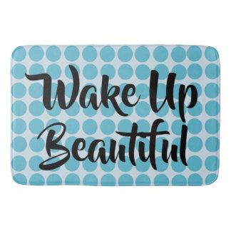 Wake Up Beautiful Bath Mat
