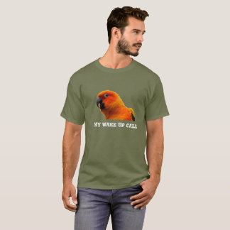 Wake Up Call Parrot T-Shirt