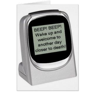 Wake Up! Card