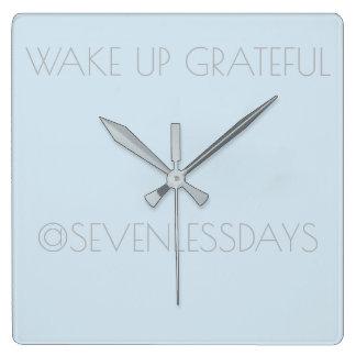 Wake up Grateful Clock