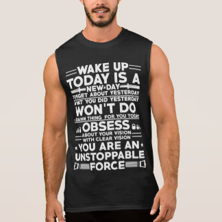 Wake up gym motivation t-shirt