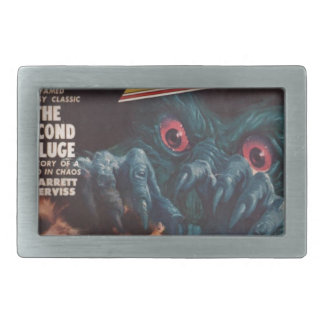 Wake Up! Rectangular Belt Buckles
