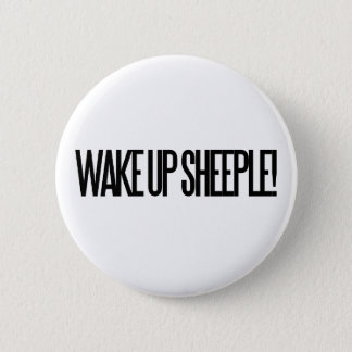 Wake up Sheeple 2 Inch Round Button