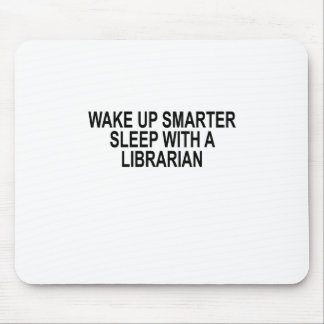 Wake Up Smarter Sleep With A Librarian Mouse Pad