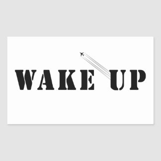 WAKE UP STICKER