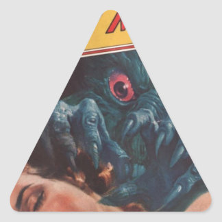Wake Up! Triangle Sticker