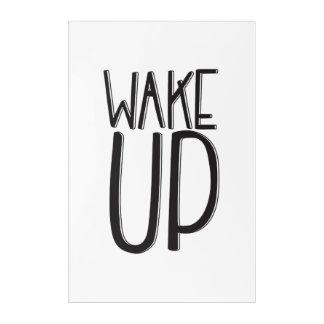 Wake Up | Wall Acrylic Print
